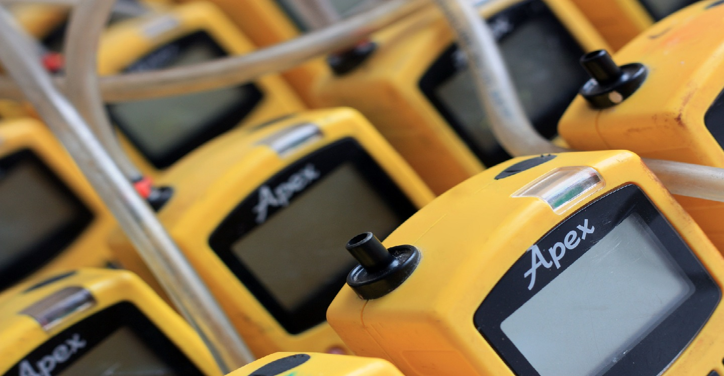 Dust and gas monitoring instrument hire