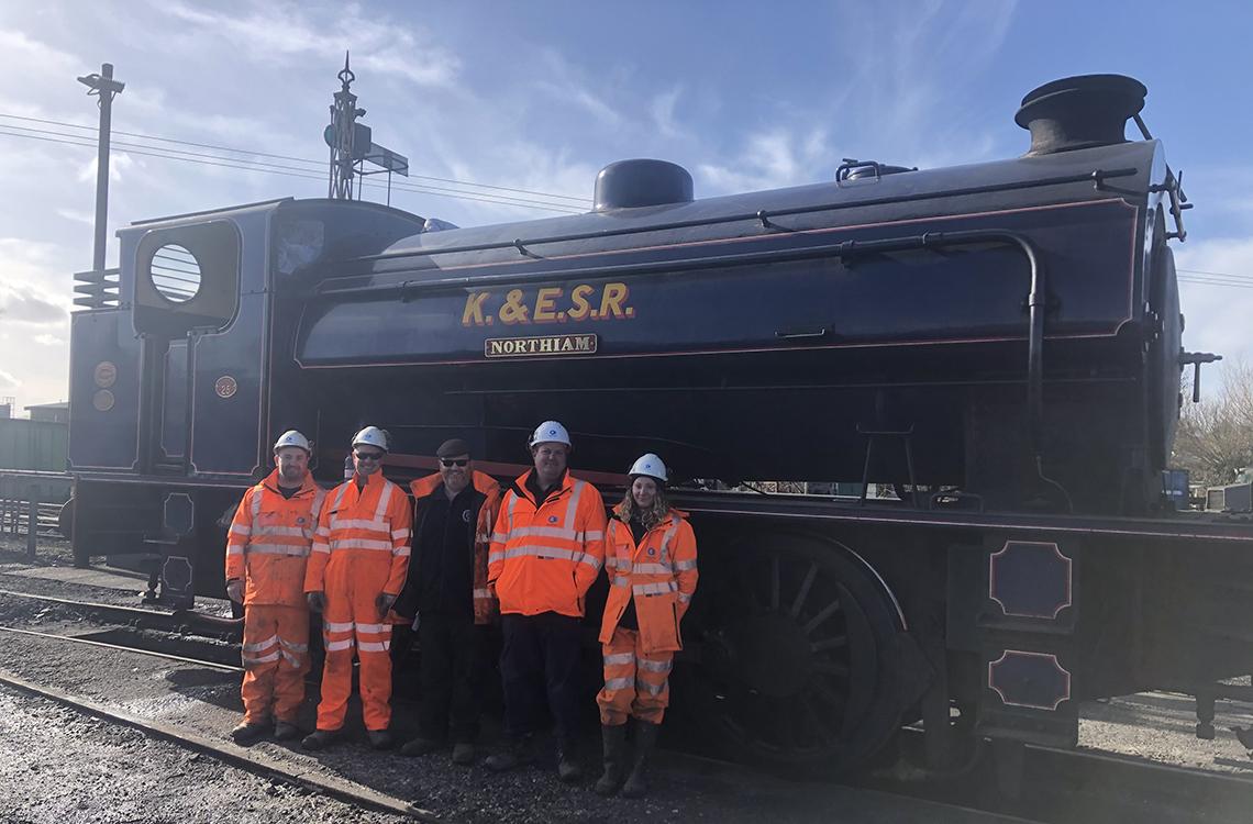 Historic railway GI work