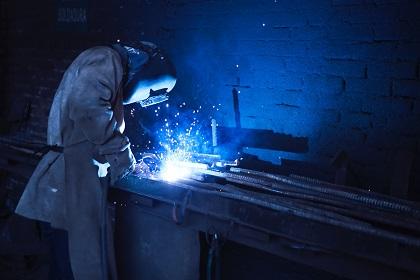 Steel welding fumes