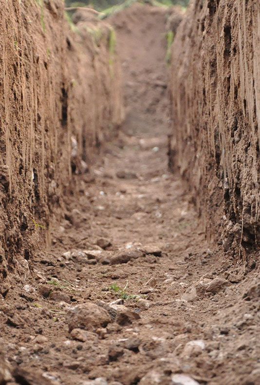 Trial pitting and trenching
