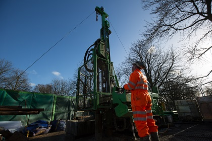 ground investigation drill rig