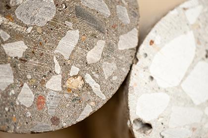 end preparation concrete cores